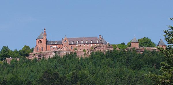 Mont Saint-Odile en Alsace